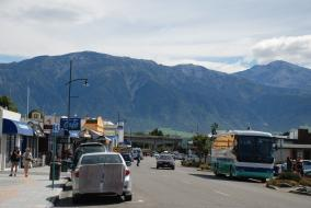 Kaikoura Town in March