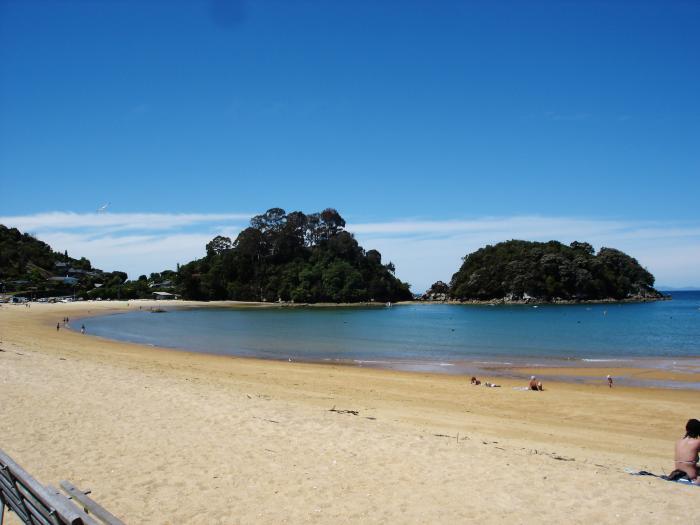 Kaiteriteri beach nelson new zealand