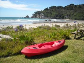 Kayak at Whangamata