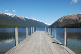 Lake Rotoiti in Spring