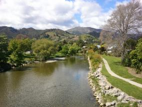 Maitai River, Nelson in Spring