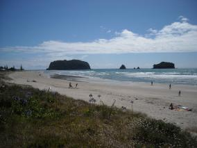 Summer at Whangamata Beach