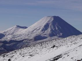 Winter view from Mt Ruapehu