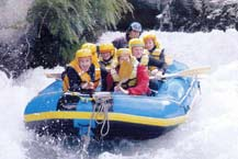 Queenstown whitewater rafting